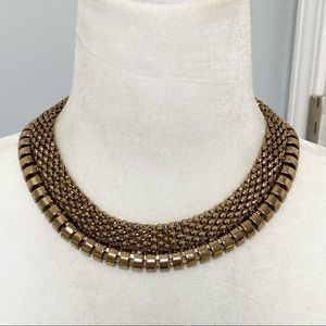 🍭6/$30 Gold tone cleopatra collar necklace